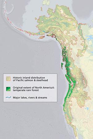 The Pacific Coast Bioregion of North America